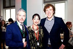 Doug Farrell,  DMG Media Ireland and Vicki Flynn,Electric Media. Colm Sherwin, Mediavest.