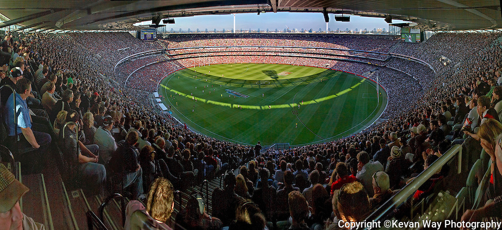 AFL match Anzac Day  MCG Melbourne VIC