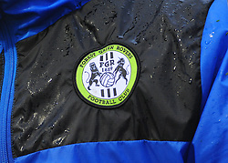 Forest Green Rovers Club Badge -Mandatory by-line: Nizaam Jones/JMP - 18/11/2017 - FOOTBALL - New Lawn Stadium - Nailsworth, England - Forest Green Rovers v Crewe Alexandre-Sky Bet League Two