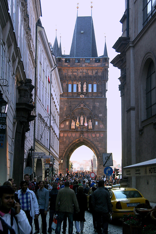 Old Town Bridge Tower (Staroměstská Mostecká Věž), Prague, Czech Republic