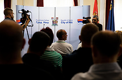 Reception of Women's Eurobasket 2019 teams and FIBA officials at Mayor of City of Nis, on June 29, 2019 in City hall, Nis, Serbia. Photo by Vid Ponikvar / Sportida