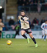 18th November 2017, Dens Park, Dundee, Scotland; Scottish Premier League football, Dundee versus Kilmarnock; Dundee's Marcus Haber