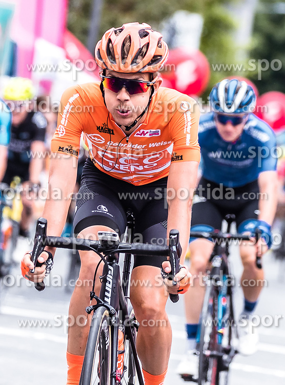 11.07.2019, Kitzbühel, AUT, Ö-Tour, Österreich Radrundfahrt, 5. Etappe, von Bruck an der Glocknerstraße nach Kitzbühel (161,9 km), im Bild Riccardo Zoidl (CCC Team, AUT) // Riccardo Zoidl (CCC Team, AUT) during 5th stage from Bruck an der Glocknerstraße to Kitzbühel (161,9 km) of the 2019 Tour of Austria. Kitzbühel, Austria on 2019/07/11. EXPA Pictures © 2019, PhotoCredit: EXPA/ JFK