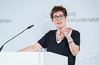 08 JUN 2018, BERLIN/GERMANY:<br /> Annegret Kramp-Karrenbauerm CDU Generalsekretaerin, Tag des deutschen Familienunternehmens, Stiftung Familienunternehmen, Hotel Adlon<br /> IMAGE: 20180608-01-096
