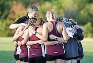 September 3, 2016: The Oklahoma Christian University Eagles women's cross country team participates in the UCO Land Run at Santa Fe High School in Edmond, OK.