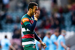 Jordan Olowofela of Leicester Tigers cuts a dejected figure - Mandatory by-line: Robbie Stephenson/JMP - 03/11/2018 - RUGBY - Welford Road Stadium - Leicester, England - Leicester Tigers v Worcester Warriors - Gallagher Premiership Rugby