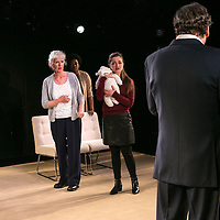 Cyprus Avenue by David Ireland;<br /> Directed by Vicky Featherstone;<br /> Stephen Rea as Eric Miller;<br /> Amy Molloy as Julie;<br /> Julia Dearden as Bernie;<br /> Wunmi Mosaku as Bridget;<br /> Jerwood Theatre Upstairs;<br /> Royal Court Theatre, London, UK;<br /> 5 April 2016