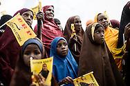 Kenya Election 2013, Sophia Abdi Noor på valgkampagne gennem de n somaliske del af kenya ved Tana River.Kenya Election 2013, Sophia Abdi Noor på valgkampagne gennem den somaliske del af kenya ved Tana River.