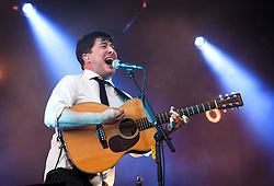 Client LLDC: Mumford & Sons at Summer Stampede music Festival. Queen Elizabeth Olympic Park. Photo: Anthony Charlton