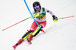 January 7, 2018 - Kranjska Gora, Gorenjska, Slovenia - Maryna Gasienica-Daniel of Poland competes on course during the Slalom race at the 54th Golden Fox FIS World Cup in Kranjska Gora, Slovenia on January 7, 2018. (Credit Image: © Rok Rakun/Pacific Press via ZUMA Wire)