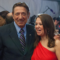 Former NFL Player Joe Namath posing at the Mahalia Jackson Theatre NFL Honors in New Orleans, Louisiana on Feb.2 2013.
