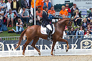 Niels Bax - Bentley<br /> FEI World Breeding Dressage Championships for Young Horses 2012<br /> © DigiShots