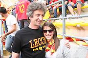 Foto di Donato Fasano .15  05  2011  Bari ( Italia ).Sport Calcio.AS Bari -  Us Lecce   TIM Serie A 2010  2011 - Stadio San Nicola Bari.Nella foto: PAOLO PERRONE in curva sud a bari
