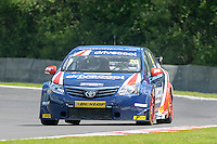 #20 James Cole (GBR) - United Autosports Toyota Avensis during the first BTCC race at Oulton Park, Little Budworth, Cheshire, United Kingdom. June 08 2014. World Copyright Peter Taylor/PSP. Copy of publication required for printed pictures.  Every used picture is fee-liable. http://archive.petertaylor-photographic.co.uk