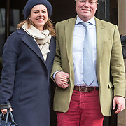 NLD/Amsterdam/20180203 - 80ste Verjaardag Pr. Beatrix, Prins Carlos en partner prinses Annemarie Gualthérie van Weezel