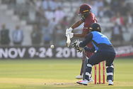 Evin Lewis of West Indies during the International Twenty/20 match at Lord's, London<br /> Picture by Simon Dael/Focus Images Ltd 07866 555979<br /> 31/05/2018