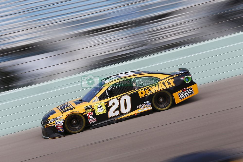 November 17, 2018 - Homestead, Florida, U.S. - Erik Jones (20) takes to the track to practice for the Ford 400 at Homestead-Miami Speedway in Homestead, Florida. (Credit Image: © Justin R. Noe Asp Inc/ASP)