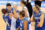 DESCRIZIONE : Ortona Italy Italia Eurobasket Women 2007 Serbia Italia Serbia Italy<br /> GIOCATORE : Giorgia Sottana Kathrin Ress<br /> SQUADRA : Nazionale Italia<br /> EVENTO : Eurobasket Women 2007 Campionati Europei Donne 2007 <br /> GARA : Serbia Italia Serbia Italy<br /> DATA : 01/10/2007 <br /> CATEGORIA : esultanza<br /> SPORT : Pallacanestro <br /> AUTORE : Agenzia Ciamillo-Castoria/E.Castoria<br /> Galleria : Eurobasket Women 2007 <br /> Fotonotizia : Ortona Italy Italia Eurobasket Women 2007 Serbia Italia Serbia Italy<br /> Predefinita :
