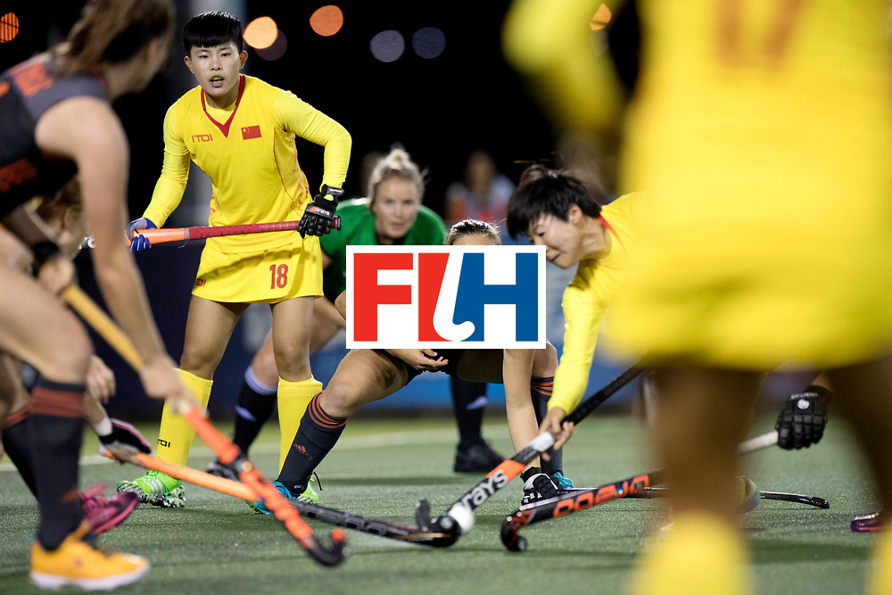 AUCKLAND - Sentinel Hockey World League final women<br /> Match id: 10305<br /> 16 NED v CHina (QF)<br /> Foto: Kelly Jonker.<br /> WORLDSPORTPICS COPYRIGHT FRANK UIJLENBROEK