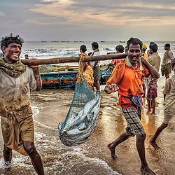 India: Fishing Village