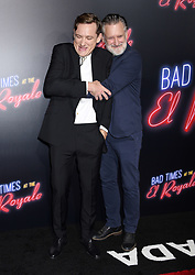 'Bad Times At The El Royale' Global Premiere held at the TCL Chinese Theatre on September 22, 2018 in Hollywood, CA. © Janet Gough / AFF-USA.com. 22 Sep 2018 Pictured: Lewis Pullman and Bill Pullman. Photo credit: Janet Gough / AFF-USA.com / MEGA TheMegaAgency.com +1 888 505 6342