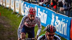Ian FIELD (58,GBR), 6th lap at Men UCI CX World Championships - Hoogerheide, The Netherlands - 2nd February 2014 - Photo by Pim Nijland / Peloton Photos
