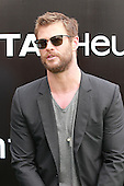 Chris Hemsworth attends TAG Heuer store opening Hong Kong