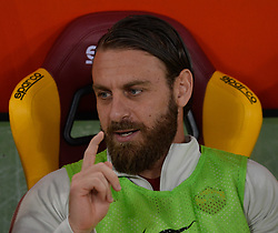 April 18, 2018 - Rome, Italy - Daniele De Rossi during the Italian Serie A football match between A.S. Roma and AC Genoa at the Olympic Stadium in Rome, on april 18, 2018. (Credit Image: © Silvia Lore/NurPhoto via ZUMA Press)