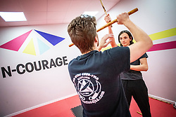 Filipino Martial Arts class at N-Courage, Alloa