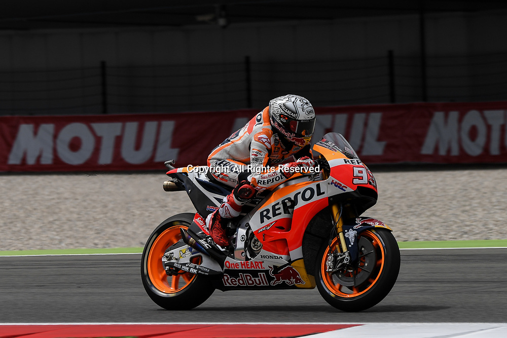 June 23rd 2017, TT Circuit, Assen, Netherlands; MotoGP Grand Prix TT Assen, Free practice Day; Marc Marquez (Repsol Honda) during the free practice