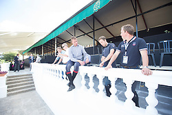 Vrieling Jur, (NED), Schroder Gerco, (NED), Van Der Vleuten Maikel, (NED)<br /> Furusiyya FEI Nations Cup Jumping Final - Barcelona 2015<br /> © Dirk Caremans<br /> 23/09/15