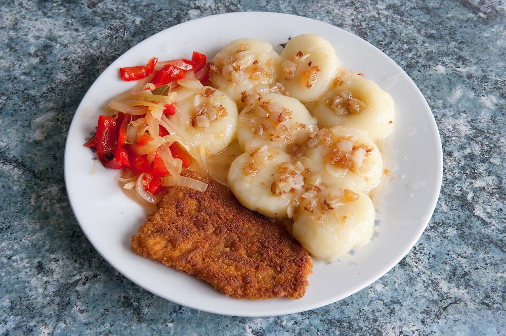 Silesian potato dumplings - Kluski śląskie<br />