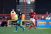 Bristol City's Taylor Moore clears the ball during the EFL Sky Bet Championship match between Bristol City and Swansea City at Ashton Gate, Bristol, England on 21 September 2019.
