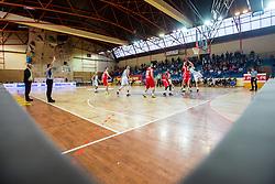 Basketball match between KK Krka Novo mesto and KK Tajfun Sentjur at Superpokal 2015, on September 26, 2015 in SKofja Loka, Poden Sports hall, Slovenia. Photo by Grega Valancic / Sportida.com