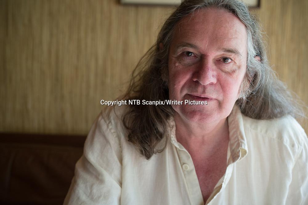 Oslo  20140811.<br /> Pressetreff med forfatter Ingvar Ambj&macr;rnsen i forbindelse med boken &quot;Farvel til romanen&quot; i Oslo mandag ettermiddag.<br /> Foto: Audun Braastad / NTB scanpix<br /> <br /> NTB Scanpix/Writer Pictures<br /> <br /> WORLD RIGHTS, DIRECT SALES ONLY, NO AGENCY