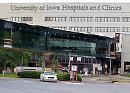 The University of Iowa Hospital and Clinics in Iowa City, Iowa, July 13, 2012.