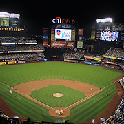 A sell out crowd watching  the New York Mets V Arizona Diamondbacks Major League Baseball game  at Citi Field, Queens, New York. USA. 3rd July 2013. Photo Tim Clayton