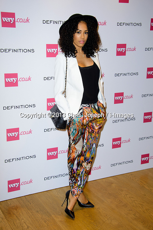 Jade Ewen Attends the DEFINITIONS - launch event at Somerset House, London, United Kingdom. Wednesday, 4th September 2013. Picture by Chris  Joseph / i-Images