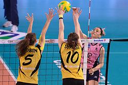 10-04-2016 ITA: CEV DenizBank Champions League  - VakıfBank Istanbul - Pomi Casalmaggiore, Montichiari<br /> Francesca Piccinini of Pomi' Casalmaggiore<br /> <br /> ***NETHERLANDS ONLY***
