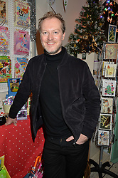MAX COOPER at a promotional party for the A Girl For All Time doll held at HoneyJam, 2 Blenheim Crescent, London on 5th December 2015.