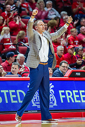 NORMAL, IL - November 10: Dan Muller during a college basketball game between the ISU Redbirds and the Little Rock Trojans on November 10 2019 at Redbird Arena in Normal, IL. (Photo by Alan Look)