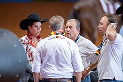 Baeck Cira, BEL<br /> World Equestrian Games - Tryon 2018<br /> © Hippo Foto - Dirk Caremans<br /> 12/09/2018