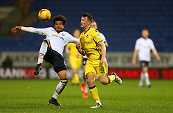 Ollie Clarke of Bristol Rovers and Derik Osede of Bolton Wanderers - Mandatory by-line: Matt McNulty/JMP - 28/02/2017 - FOOTBALL - Macron Stadium - Bolton, England - Bolton Wanderers v Bristol Rovers - Sky Bet League One