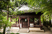 Traditional Pavilion in Yu Yuan Gardens Shanghai, China