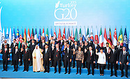 G20 Summit - Antalya, Turkey