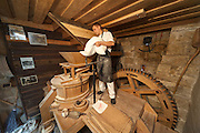 restaurierte Mühle, Schmilka, Sächsische Schweiz, Elbsandsteingebirge, Sachsen, Deutschland | restored water mill and bakery, Schmilka, Saxon Switzerland, Saxony, Germany