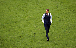 England manager Gareth Southgate looks dejected after the final whistle during the FIFA World Cup third place play-off match at Saint Petersburg Stadium. PRESS ASSOCIATION Photo. Picture date: Saturday July 14, 2018. See PA story WORLDCUP Belgium. Photo credit should read: Tim Goode/PA Wire. RESTRICTIONS: Editorial use only. No commercial use. No use with any unofficial 3rd party logos. No manipulation of images. No video emulation.