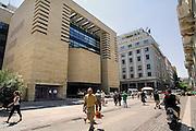 Griekenland, Athene, 5-7-2008Het gebouw van de griekse centrale bank.Foto: Flip Franssen