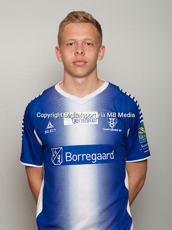 Fotball , Tippeligaen 2014 , Elitesereien , portrett , portretter , Sarpsborg 08 , Thomas Aaran<br /> Foto Astrid M. Nordhaug