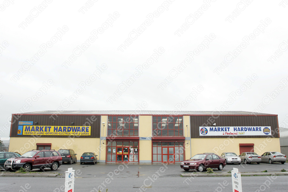 Market Hardware, Quin Road Ind Estate. Pic. Brian Arthur/ Press 22.